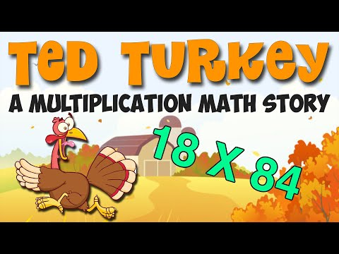 Ted the Turkey: a 3rd-5th Grade Math Story