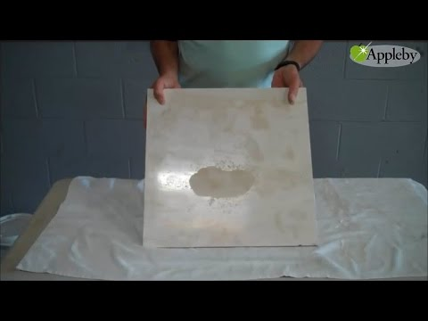 How To Remove Etch Marks From Travertine
