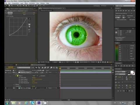 After effects cs6 tutorial eye color change