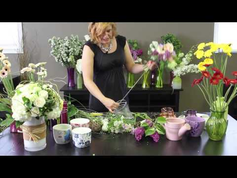 How To Make A Garden Posy Bouquet with Jennifer Harvey - Featuring Piccolini™ Micro Gerbera