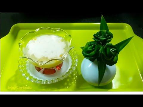 How To Make Corn Porridge Dessert_Khmer Dessert