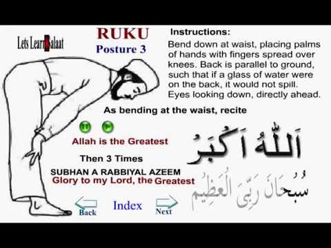 How to Pray Namaz with English Translation and pronounciation