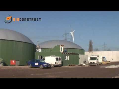 Bau einer Biogasanlage