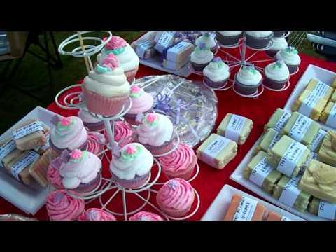 Handmade Soap Cupcakes Krystalkaz Australia Yamba