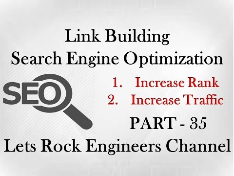Link Building in Search Engine optimization - SEO PART - 35