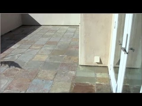 Cleaning And  Color Enhancing Slate Tile - San Diego Stone Care