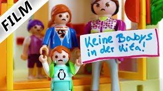 Playmobil Film Deutsch - EMMAS HAUSVERBOT IN KITA! SIE DARF NIE MEHR HIN? Kinderfilm Familie Vogel