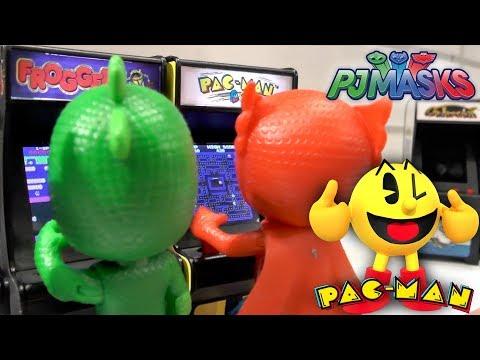 PJ Masks Toy Powers Shrink REAL Pac-Man Game (Disney Junior)