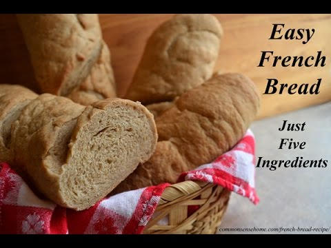 How to Roll Out and Bake a Loaf of French Bread