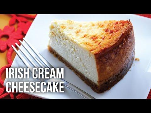 Irish Cream Cheesecake - How to make Irish Cream Cheesecake