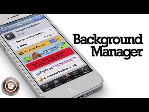Background Manager - Cydia Tweak for iPhone and iPad