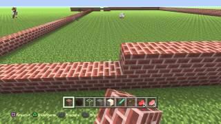 Minecraft building a big house, part 1