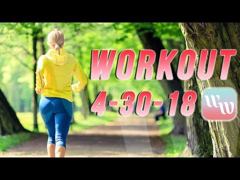 Workout 4-30-18