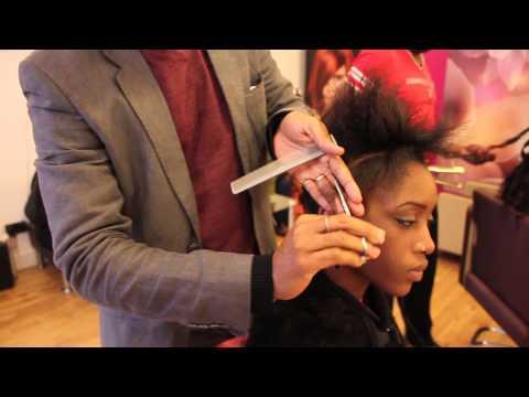 How To Cut Afro Hair   A Short Cut