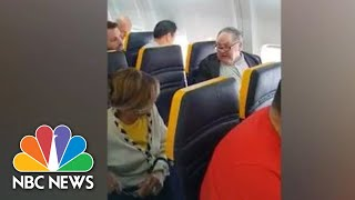 Video Captures Ryanair Passenger's Racist Rant At Black Woman | NBC News