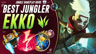 Why Ekko Jungle Is Basically FREE LP For The End Of The Season! | Challenger Jungle Guide