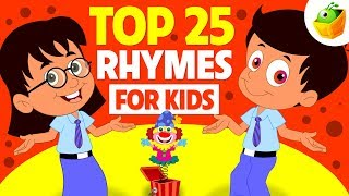 Top 25 Rhymes for Kids   Non Stop Compilation   Magicbox English Kids Channel