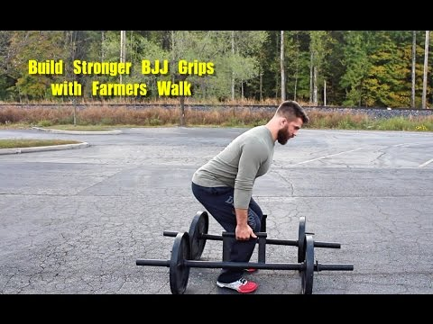 Build Stronger BJJ Grips with Farmers Walk