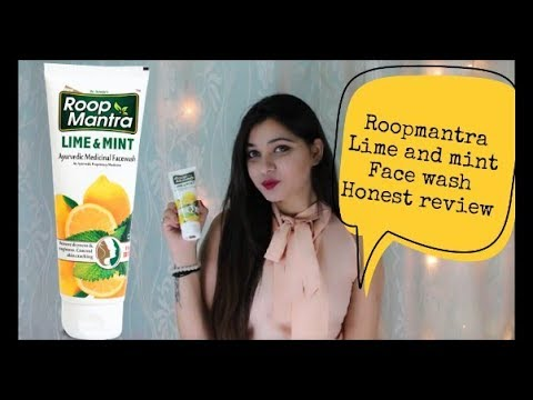 Roopmantra Lime and mint face wash | Honest Review | Best Facewashes For Summers 2018| Amazing You