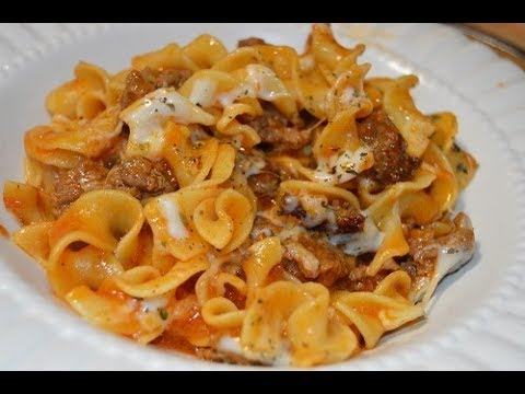 Skillet Lasagna Homemade Hamburger Helper - How to Make Lasagna Hamburger Helper Style