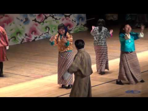 TANC Sunday School Parent Bhutanes dance
