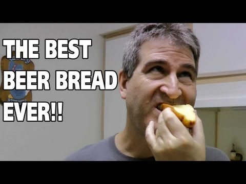 HOW TO MAKE BEER BREAD WITH LARRY THE CABLE GUY!