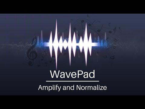 WavePad Audio Editor Tutorial | Amplify and Normalize