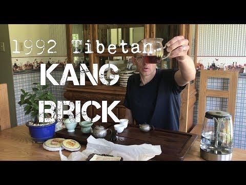 1992 Tibetan Kang Brick Tea