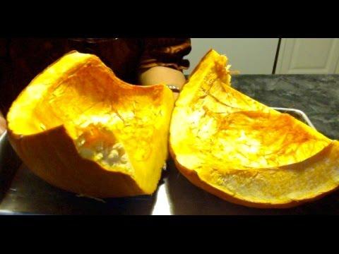 How to make Pumpkin Puree and Freeze