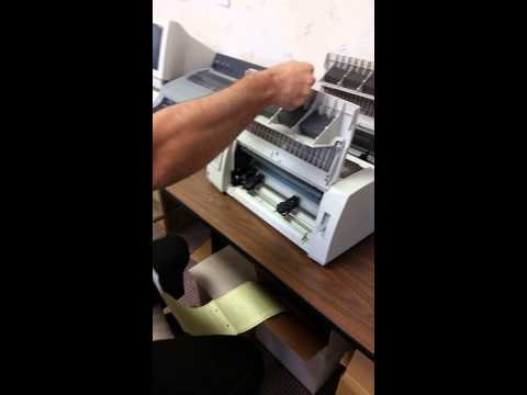Lexmark 2580n Printer Setup (end user)