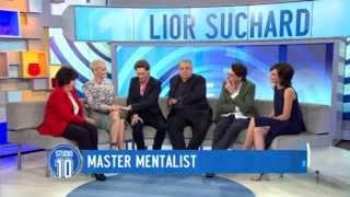 Master Mentalist: Lior Suchard   Studio 10