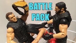 WWE ACTION INSIDER: Shield Battle Pack series 26: Dean Ambrose, Seth Rollins NEW wrestling figures