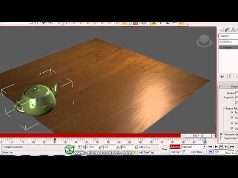 3D Studio Max - Tutorial - How to make a simple animation | Basics about 3D animation