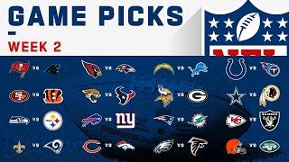 Week 2 NFL Game Picks   NFL 2019