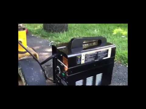 Equipment Review - 90 Amp Flux Welder - Harbor Freight