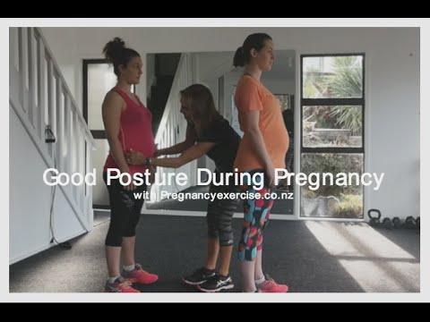 GOOD POSTURE DURING PREGNANCY