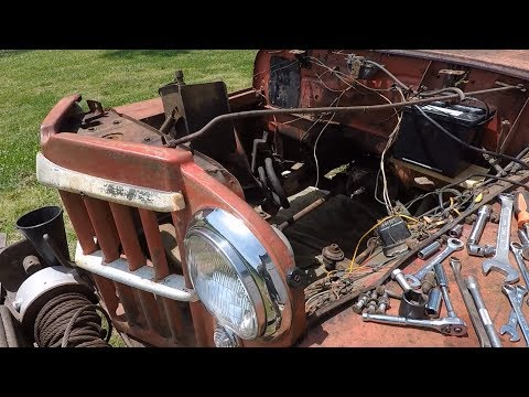 Willys Truck Take Eleven; Swappin Parts