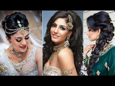 Top 20 Latest Bridal Hair Styles 2017 | Latest Indian/Pakistani Bridal Hair Styles