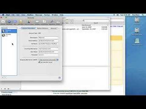 Getting Your Gmail In Apple Mail 2