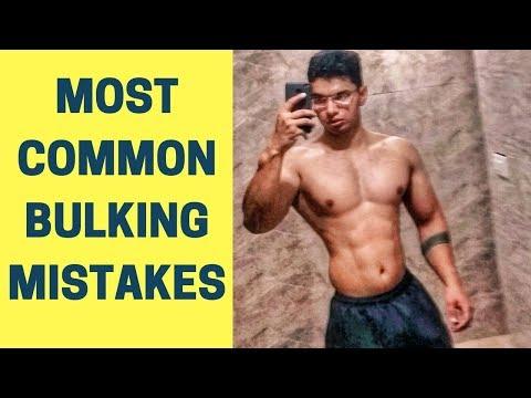 5 Most Common Bulking Mistakes | 5 Biggest Bulking Mistakes | 5 Most Common Weight Gain Mistakes