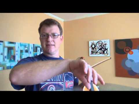 Up-bow Staccato for Violin