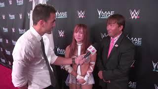 Kairi Sane reacts to winning WWE