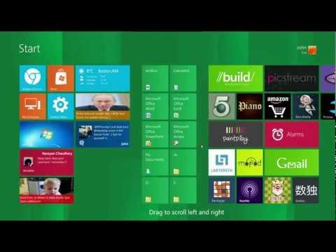 Windows 8 Start Screen For Windows XP,Vista and 7