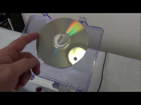 Remove scratches on DVD's, CD's, Blu-Ray's and Video Games with the JFJ EASY PRO!