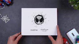 UNBOXING REALME X EDISI SPIDERMAN FAR FROM HOME!