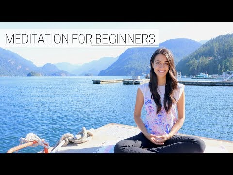 BEGINNER'S GUIDE TO MEDITATION » for a positive & productive day (part 1)