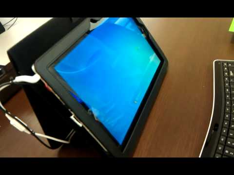 Windows7 tablet Hands On @microsoft store