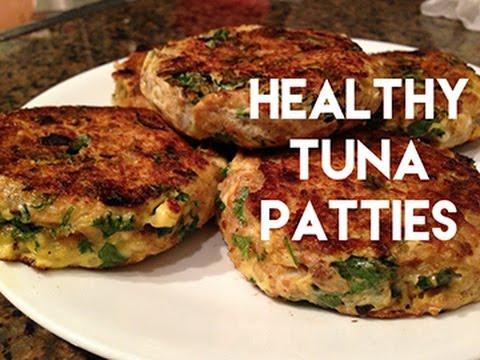 NEFitt Healthy Meal Wednesdays #1 - High Protein Tuna Patties