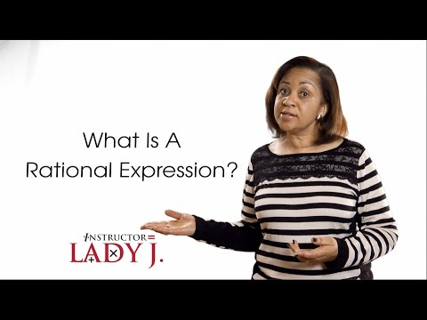 What is a Rational Expression?