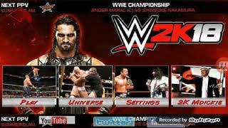 Link in description) How to get WWE 2K18 Mod for wr3d!
